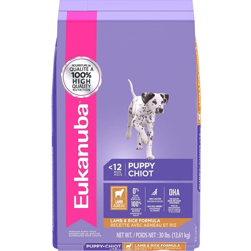 Eukanuba Puppy Lamb and Rice Dry Formula