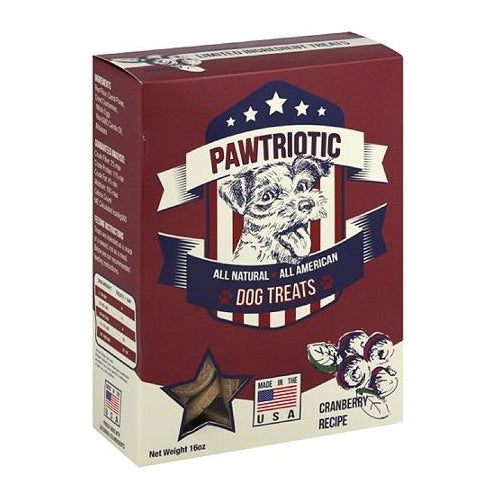 Wet Noses Pawtriotic Cranberry Dog Treats