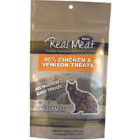 Real Meat Chicken and Venison Jerky Treats for Cats