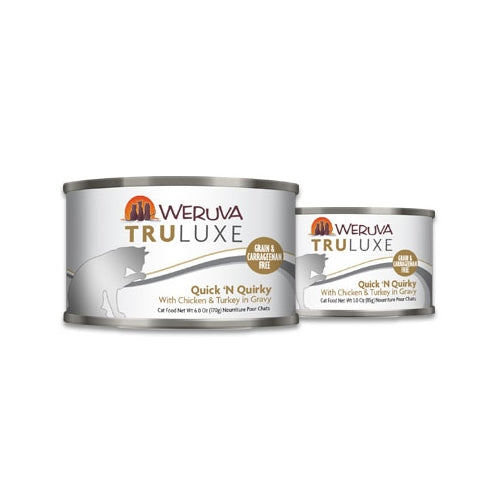Weruva Truluxe Quick 'N Quirky Canned Cat Food