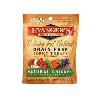 Evanger's Grain Free Chicken Jerky Dog Treat