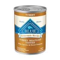 Blue Buffalo Homestyle Recipe Turkey Meatloaf Dinner For Adult Dogs