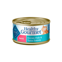 Blue Buffalo Healthy Gourmet Ocean Fish & Tuna Entree For Adult Cats