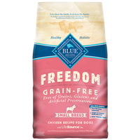 Blue Buffalo Freedom Grain Free Chicken Form Adult Small Breed Dogs