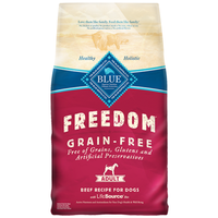 Blue Buffalo Freedom Grain Free Beef for Adult Dogs