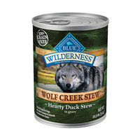 Blue Buffalo Wilderness Wolf Creek Stew Duck Canned Dog Food