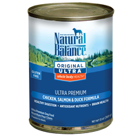 Natural Balance Original Ultra Whole Body Health Canned Dog Food