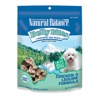 Natural Balance Belly Bites Chicken & Legume Semi-Moist Dog Treats