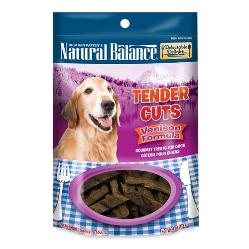 Natural Balance Delectable Delights Venison Tender Cuts Dog Treats
