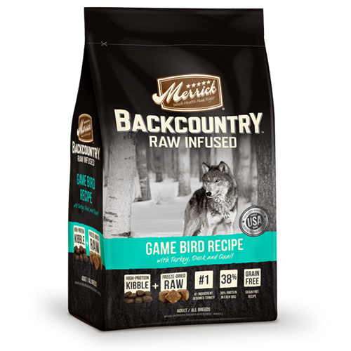 Merrick Grain Free Backcountry Game Bird Recipe Dog Food