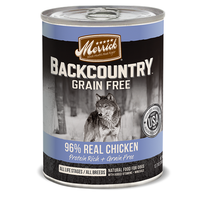 Merrick Grain Free Backcountry 96% Real Chicken Recipe Canned Dog Food