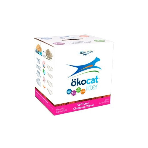 ökocat Soft Step Wood Clumping Cat Litter