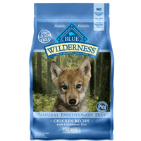Blue Buffalo Wilderness Grain Free Chicken Dry Puppy Dog Food