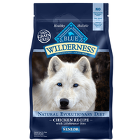 Blue Buffalo Wilderness Grain Free Chicken Senior Adult Dry Dog Food