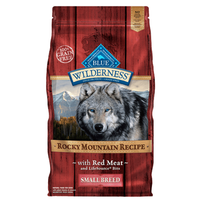 Blue Buffalo Wilderness Grain Free Rocky Mountain Red Meat Small Breed Adult Dry Dog Food