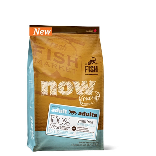 NOW! FRESH Grain-Free Fish Recipe Adult Dry Cat Food