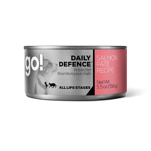 Go! DAILY DEFENCE Salmon Pâté Recipe Canned Cat Food