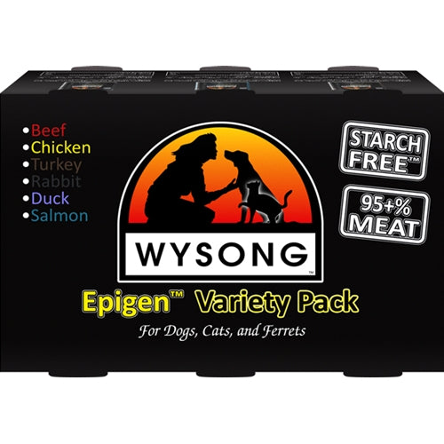 Wysong Epigen Variety Pack Canned Cat/Dog Food