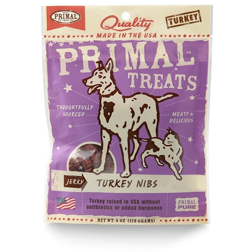 Primal Jerky Turkey Nibs Treats