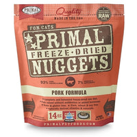 Primal Freeze Dried Pork Formula for Cats