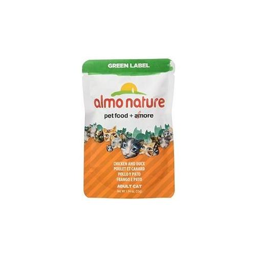 Almo Nature Green Label Chicken and Duck Wet Food for Cats
