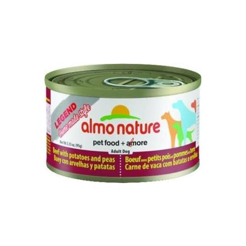 Almo Nature Legend Natural Beef with Peas and Potatoes Canned Food for Dogs