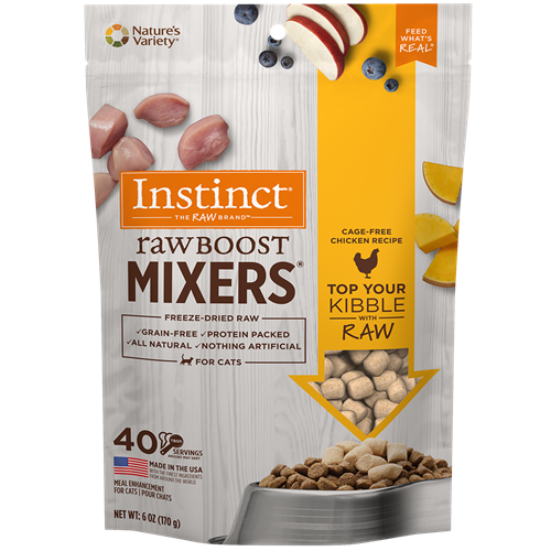 Nature's Variety Feline Raw Boost Mixer Chicken