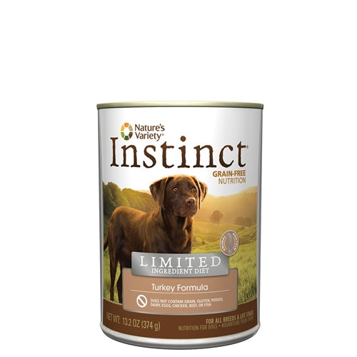 Nature's Variety Limited Ingredient Turkey Canned Dog Food