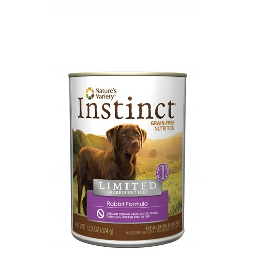 Nature's Variety Limited Ingredient Rabbit Can Dog Food