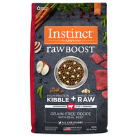 Nature's Variety Instinct Raw Boost Beef Formula Dry Dog Food