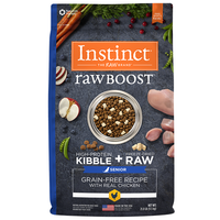 Nature's Variety Instinct Raw Boost Chicken Formula Dry Senior Dog Food
