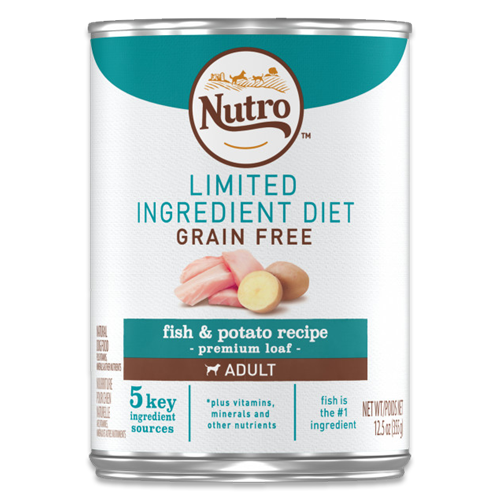 NUTRO LID Fish & Potato Recipe Premium Loaf