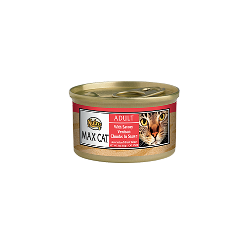 Nutro Max Savory Venison Canned Food For Cats