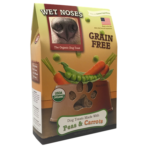 Wet Noses Peas & Carrots Dog Treats