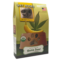 Wet Noses Hemp Seed and Banana Dog Treats