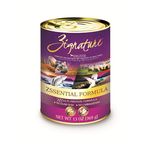 Zignature Zssential Canned Dog Food Formula