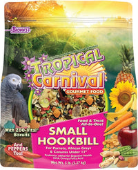 Brown's Tropical Carnival® Gourmet Small Hookbill Food