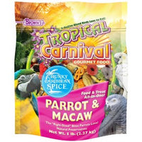 Brown's Tropical Carnival® Chunky Caribbean Spice Parrot & Macaw Food