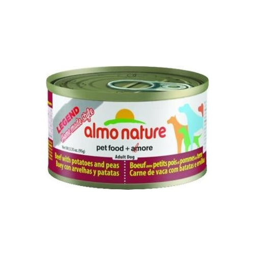 Almo Nature Legend Beef with Peas and Potatoes Canned Dog Food