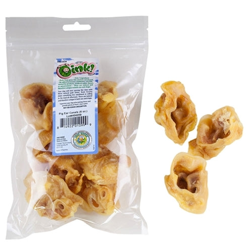 Free Range Dog Chews Oink! Pig Ear Canals