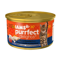 Iams Purrfect Delights Dive in Oceanfish Dinner Canned Cat Food