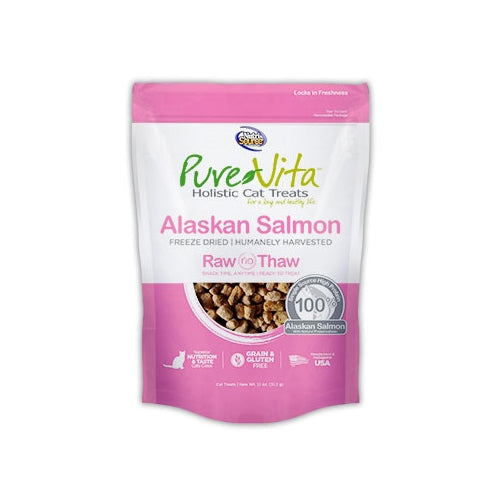 PureVita Freeze Dried Alaskan Salmon Cat Treats