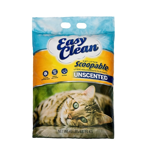 Pestell Easy Clean Unscented Clumping Cat Litter