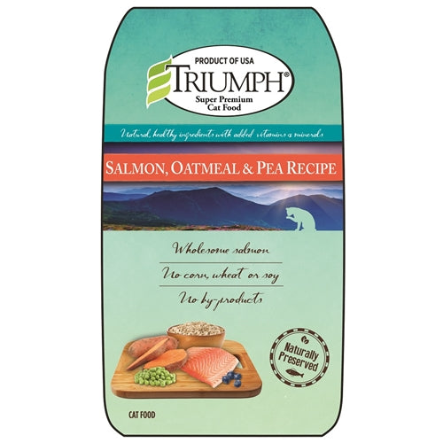 Triumph Salmon, Oatmeal and Pea Dry Cat Food