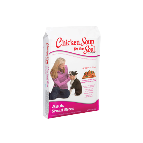 Chicken Soup for the Dog Lover's Soul SMALL BITE Adult Dry Formula