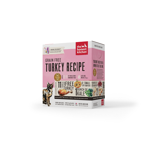 The Honest Kitchen Dehydrated Grain Free Turkey for Cats
