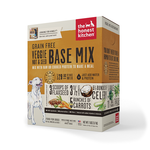 The Honest Kitchen Dehydrated Grain Free Veggie, Nut & Seed Base Mix