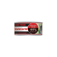Dave's Pet Food 95% Premium Beef and Liver Canned Cat Food