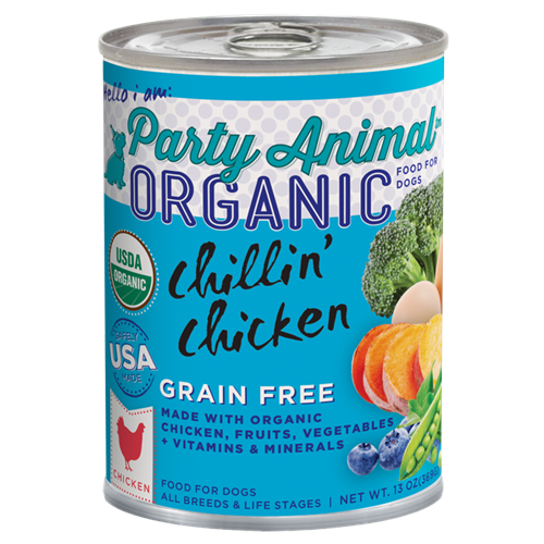 Party Animal Chillin' Chicken Canned Food for Dogs
