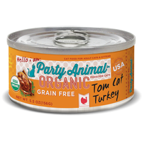 Party Animal Tom Cat Turkey Canned Food for Cats